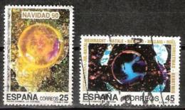NAVIDAD - AÑO 1990 - Nº EDIFIL 3084-85 - 1931-Hoy: 2ª República - ... Juan Carlos I