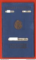 Forlì Passaporto 1934 X Londra Old Passport Passeport Documents Timbri Fascio Ventennio - Cheques & Traveler's Cheques