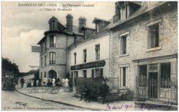 61 BAGNOLES-de-L'ORNE - La Pharmacie Loudenot Et L'hotel De Normandie - Bagnoles De L'Orne