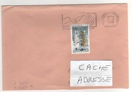 """: Beau Timbre , Stamp  Yvert N° 3022 """" ND De Fourvière Lyon """" Sur Lettre Du 15/11/1996 - France"""