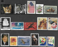 US  2003-5   16 Diif 37c Used   Tough Stamps To Find - Usados