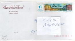 """: Beau Timbre , Stamp  Yvert N° 3106 """" Versailles 70 è Congrès Philatélique """" Sur Lettre - France"""