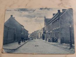 LESSINES RUE DE L'hôtellerie 1 JUIN 1908 RUE ANIMEE - Lessines