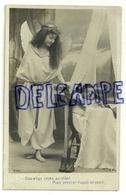 """Photographie. Ange Et Petite Fille .""""Bon Ange, Soyez Au Réveil ... """". 1907 - Anges"""