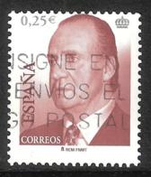 JUAN CARLOS I - AÑO 2002 - Nº EDIFIL 3860id - VARIEDAD - 2001-10 Usados