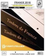 Jeu France Yvert Et Tellier FS 2018 - 2ème Partie - Vordruckblätter