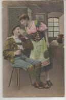 Couple Bavarois, Chope De Bière Et Costume. - Couples