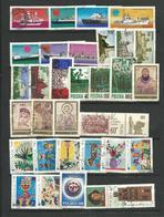 POLOGNE 1971 - 79 Timbres  Tous Differents  Voir Scan Lot  77 - Detail Annonce - Pologne