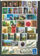 POLOGNE   1973 - 54 Timbres  Tous Differents  Voir Scan Lot  79 - Detail Annonce - Pologne