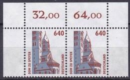 BRD, 1995, Sehenswürdigkeiten (XVIII) Mi. Nr. 1811** , Oberrand-Paar Aus Kleinbogen - Nuovi
