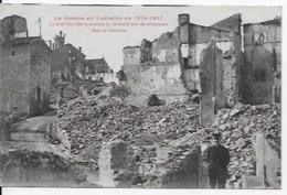 2  CPA 54 Gerbéviller 1914 1917 - Oorlog 1914-18