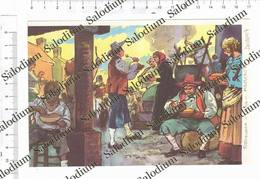 TOSSIGNANO - POLENTA POLENTADA - Immagine Ritagliata Da Pubblicazione Originale D'epoca - Victorian Die-cuts