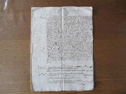 20 9bre 1685 ROLLE DE LA TAILLE ROYALLE DE 1686 DE LA COMTE DULOZE CACHETS GENERALITE DE GRENOBLE 12 PAGES - Cachets Généralité