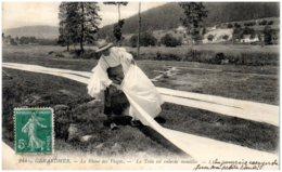 88 GERARDMER - Le Blanc Des Vosges - La Toile Est Enlevée Mouillée - Gerardmer