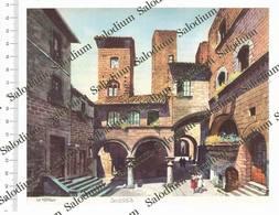 VITERBO - Immagine Ritagliata Da Pubblicazione Originale D'epoca - Victorian Die-cuts