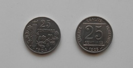 25 CENTIMES PATEY 1903 Et 1904 - Bel état. - Francia