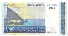 Madagascar 5000 Francs Superbe - Madagascar