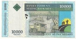 Madagascar 10000 Francs Superbe - Madagascar
