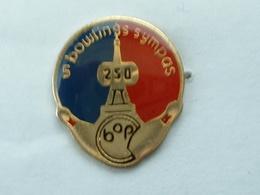 Pin's BOWLING SYMPAS PARIS - TOUR EIFFEL - Bowling