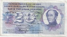 Suisse 20 Francs 1976 - Suiza