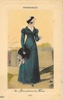 Mode Femme Normandie, Illustration - Jeune Personne Du Havre Sous La Restauration 1827 - Carte PRS N° 34 Non Circulée - Mode