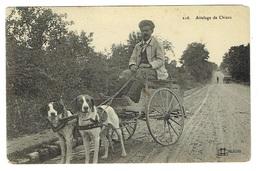 45 LOIRET Attelage De Chiens écrite à Lorris éditeur à Orléans - Francia