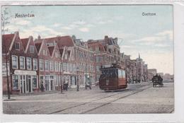 Amsterdam Overtoom Tram Paard+wagen  # 1912     1446 - Amsterdam
