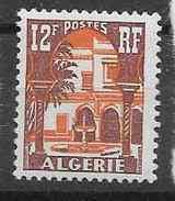 1956 ALGERIE 335** Cour Mauresque - Algerien (1924-1962)