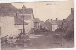 Côte-d'Or - Pluvier - Place - France