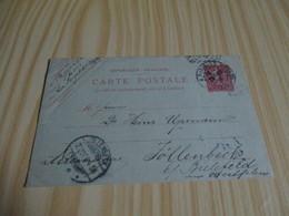 Carte Postale Datée Et Oblitérée Du 28/10/1904. - Mappe