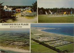 CPM Guilvinec, Camping De La Plage (multivues) - Guilvinec