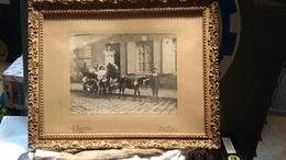 Nogent Sur Seine - Belle Photo Enfants Et âne En 1907 - Personnes Anonymes