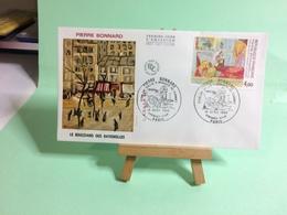 Pierre Bonnard (Boulevard Des Batignolles) - Paris - 14.4.1984 - FDC 1er Jour Coté ..€ - FDC