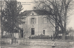CPA 18 LA CHAPELLE Saint URSIN - Otros Municipios