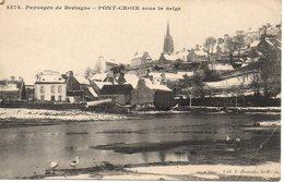 Pont-croix. Sous La Neige - Pont-Croix