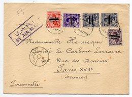 Egypte--1953--lettre D'Alexandrie  Pour  Paris  (France).....timbres ....cachet - Storia Postale