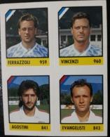 Figurina Micro Calcio Vallardi 90-91 1991 Como Taranto Numero 255 - Altri