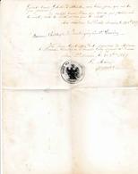 08 Ardennes Françaises Législation De Signatures Sceau De La Mairie Des Petites Armoises 1897 210x270 - Other Municipalities