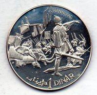 TUNISIA, 1 Dinar, Silver, Year 1969, KM #292 - Tunisia