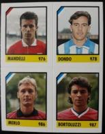Figurina Micro Calcio Vallardi 90-91 1991 Monza Pavia Pro Sesto Numero 230 - Altri