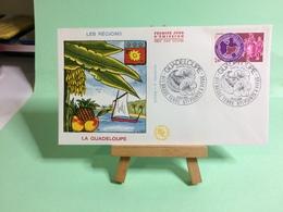 La Guadeloupe (Régions) - 971 Basse Terre - Point à Pitre - 25.2.1984 - FDC 1er Jour Coté ..€ - FDC