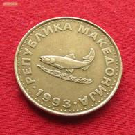 Macedonia 2 Denari 1993 KM# 3  Macedoine Mazedonien - Macedonia