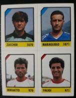 Figurina Micro Calcio Vallardi 90-91 1991 Mantova Siracusa Numero 226 - Altri