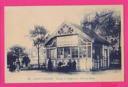 CPA (Réf: Z2670) SAINT-NAZAIRE (44 LOIRE ATLANTIQUE) Kiosque De Tempérance - Place Du Bassin (animée) - Saint Nazaire
