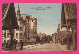 CPA (Réf: Z2676) BONN-sur--le-RHIN (ALLEMAGNE) Rue Du Pont  (animée) - Bonn