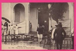 CPA (Réf: Z 2646) FEZ (AFRIQUE MAROC) Dans Le Patio L'Hôpital  Militaire En 1913 Croix Rouge - Fez