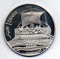 TUNISIA, 1 Dinar, Silver, Year 1969, KM #297 - Túnez