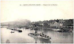 78 CONFLANS-FIN-D'OISE - Départ De La Chaine - Frankrijk