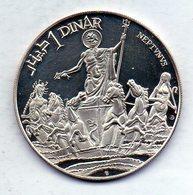 TUNISIA, 1 Dinar, Silver, Year 1969, KM #298 - Tunisia