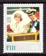 FIJI - 1982 PRINCESS DIANA 21st BIRTHDAY 45c STAMP FINE MNH ** SG 642 - Fiji (1970-...)